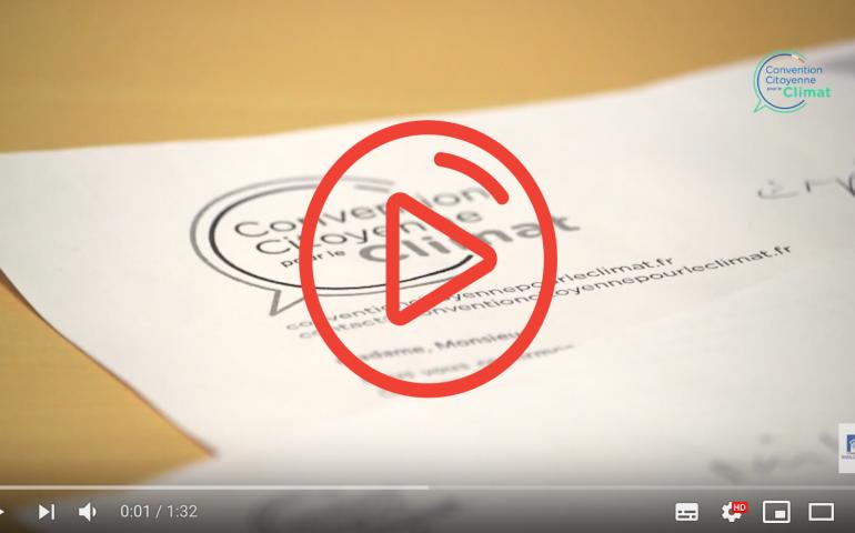 Vidéo : les dessous du tirage au sort de la Convention Citoyenne