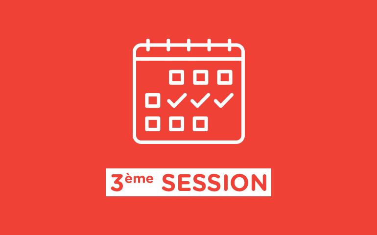 Programme de la session #3 de la Convention Citoyenne