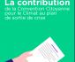 La Contribution de la Convention Citoyenne pour le climat au plan de sortie de crise